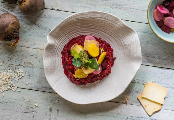 Tilda beetroot risotto